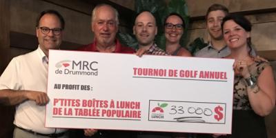 Tournois de golf annuel au profit des P'tites boîtes à lunch